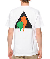 Peas & Carrots Dripping Logo Tee Shirt