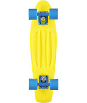 Penny Fluorescent Yellow Cruiser 22.0 Complete Skateboard