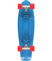 Penny Nickel Blue Cruiser Complete Skateboard
