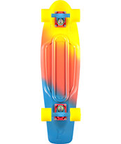 "Penny Nickel Canary Fade 27"" Cruiser Complete Skateboard"