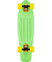 Penny Nickel Green Cruiser Complete Skateboard