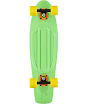 Penny Nickel Lime Green & Yellow Cruiser Complete Skateboard