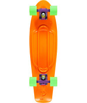Penny Nickel Orange, Purple & Green Cruiser Complete Skateboard