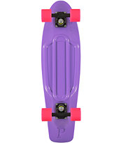 Penny Nickel Purpel & Pink Cruiser Complete Skateboard