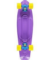Penny Nickel Purple, Blue & Yellow Cruiser Complete Skateboard