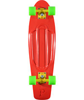 Penny Nickel Red, Green & Yellow Cruiser Complete Skateboard