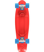 Penny Nickel Red, White & Blue Cruiser Complete Skateboard