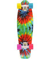 "Penny Nickel Tie Dye 27"" Cruiser Complete Skateboard"