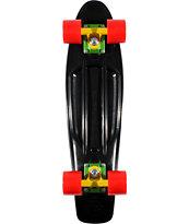 Penny Original Black & Rasta 22.5 x 6 Cruiser Complete Skateboard