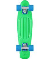 Penny Original Fluorescent Green Cruiser Complete Skateboard
