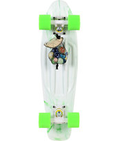 Penny Original LTD Marble White 22 x 6 Cruiser Complete Skateboard