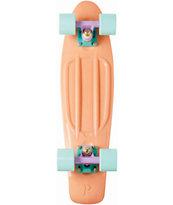 "Penny Original Peach Pastel 22"" Cruiser Complete Skateboard"