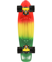 "Penny Rasta Fade 22.5"" Cruiser Complete Skateboard"