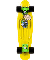 Penny Skateboards LTD Marble Yellow 22 x 6 Cruiser Complete