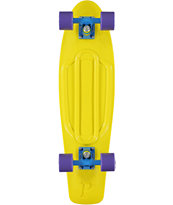 Penny Skateboards Nickel Yellow Cruiser Complete Skateboard