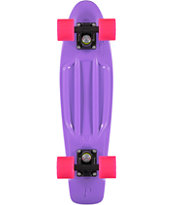 Penny Skateboards Purple, Black, & Pink Cruiser Complete Skateboard