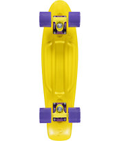 Penny Skateboards Yellow & Purple Cruiser Complete Skateboard