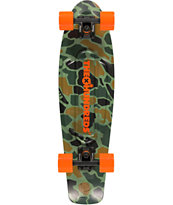Penny X The Hundreds Camo Nickel Cruiser Complete Skateboard