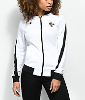 Petals by Petals & Peacocks x Champion White & Black Track Jacket