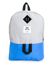 Pine Fort Grey & Royal Blue Backpack