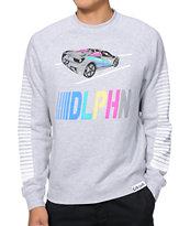 Pink Dolphin DLPHN Race Crew Neck Sweatshirt