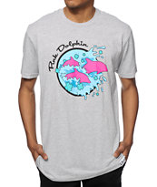 Pink Dolphin Enter The Wave T-Shirt
