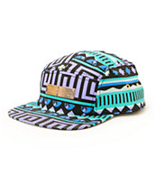 Pink Dolphin Navy 5 Panel Hat