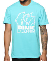 Pink Dolphin Slant T-Shirt