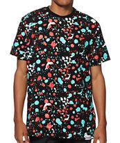 Pink Dolphin Splatter T-Shirt