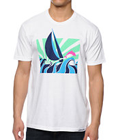 Pink Dolphin Windy White Tee Shirt
