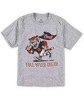 Plan B Boys Full Speed Grey T-Shirt