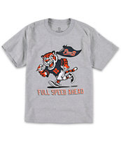 Plan B Boys Full Speed Grey Tee Shirt