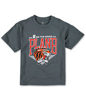 Plan B Boys Snapback Grey Tee Shirt