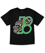 Plan B Boys Tiger Black Tee Shirt