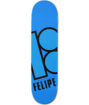 Plan B Felipe Bright 7.75 Skateboard Deck