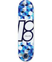 "Plan B Felipe Cubes P2 8.0"" Skateboard Deck"