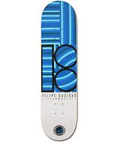 Plan B Felipe Geo P2 8.0 Skateboard Deck