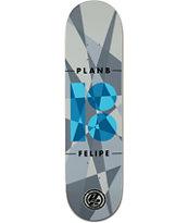 Plan B Felipe Jagged P2 8.0 Skateboard Deck