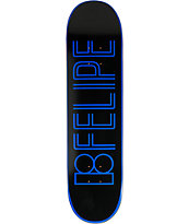 "Plan B Felipe Linear 8.0"" Skateboard Deck"