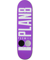 Plan B Pudwill Basic 8.38 Skateboard Deck