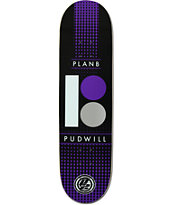 "Plan B Pudwill Halftone P2 8.25"" Skateboard Deck"