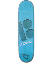 Plan B T-Pud Leather 7.75 Skateboard Deck