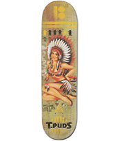 Plan B T-Puds Lady Luck 8.0 Skateboard Deck