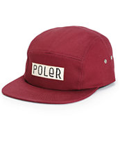 Poler Furry Font 5 Panel Hat