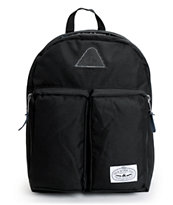 Poler Stuff Black Day Pack Laptop Backpack