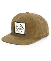 Poler Tent Corduroy Snapback Hat