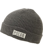 Poler Worker Man Charcoal Beanie