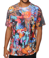 Popaganda Collage Sublimated Tee Shirt