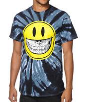 Popaganda Grin Tie Dye T-Shirt