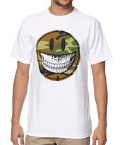Popaganda Grin White T-Shirt